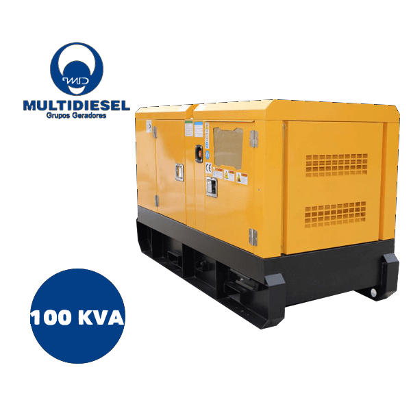 GERADOR DE ENERGIA A DIESEL 100 KVA
