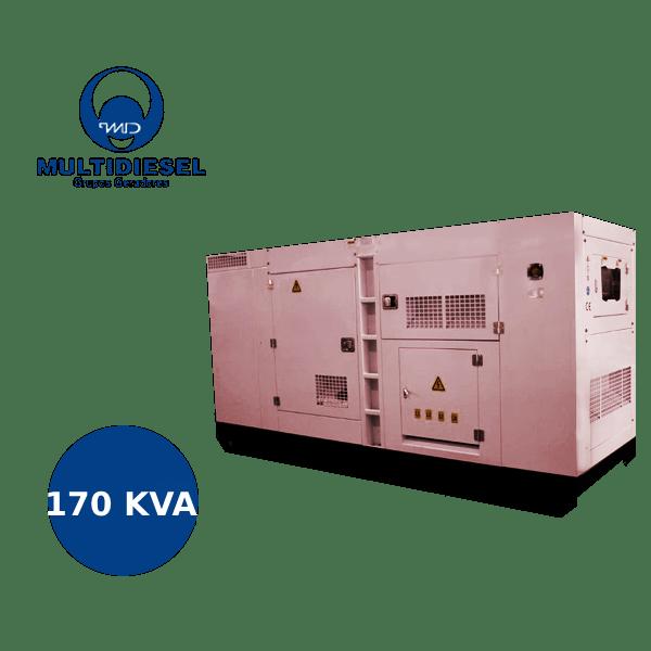 GERADOR DE ENERGIA A DIESEL 170 KVA WMW