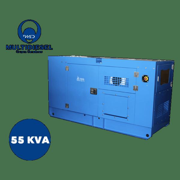 GERADOR DE ENERGIA A DIESEL 55 KVA