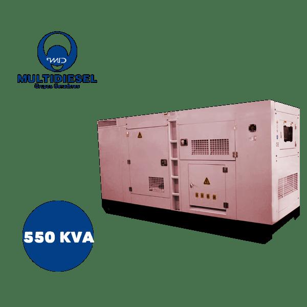 GERADOR DE ENERGIA A DIESEL 550 KVA